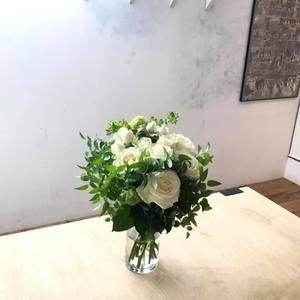 6/1 土曜レッスン バラのブーケ 講師 佐藤晴美