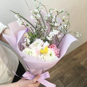 2月後半 春の花束  講師  菊井百合子
