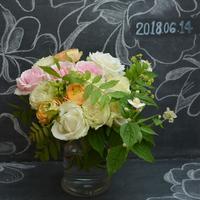 「バラのブーケに挑戦!!」6/13.14.16